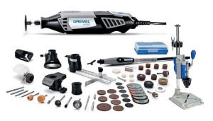 Maybe next year: The Dremel 4000-6/50 120-Volt Variable-Speed Rotary Kit and 220-01 Rotary Tool Work Station!